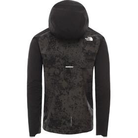The North Face Ambition H20 Jas Heren, asphalt grey grunge print/tnf black